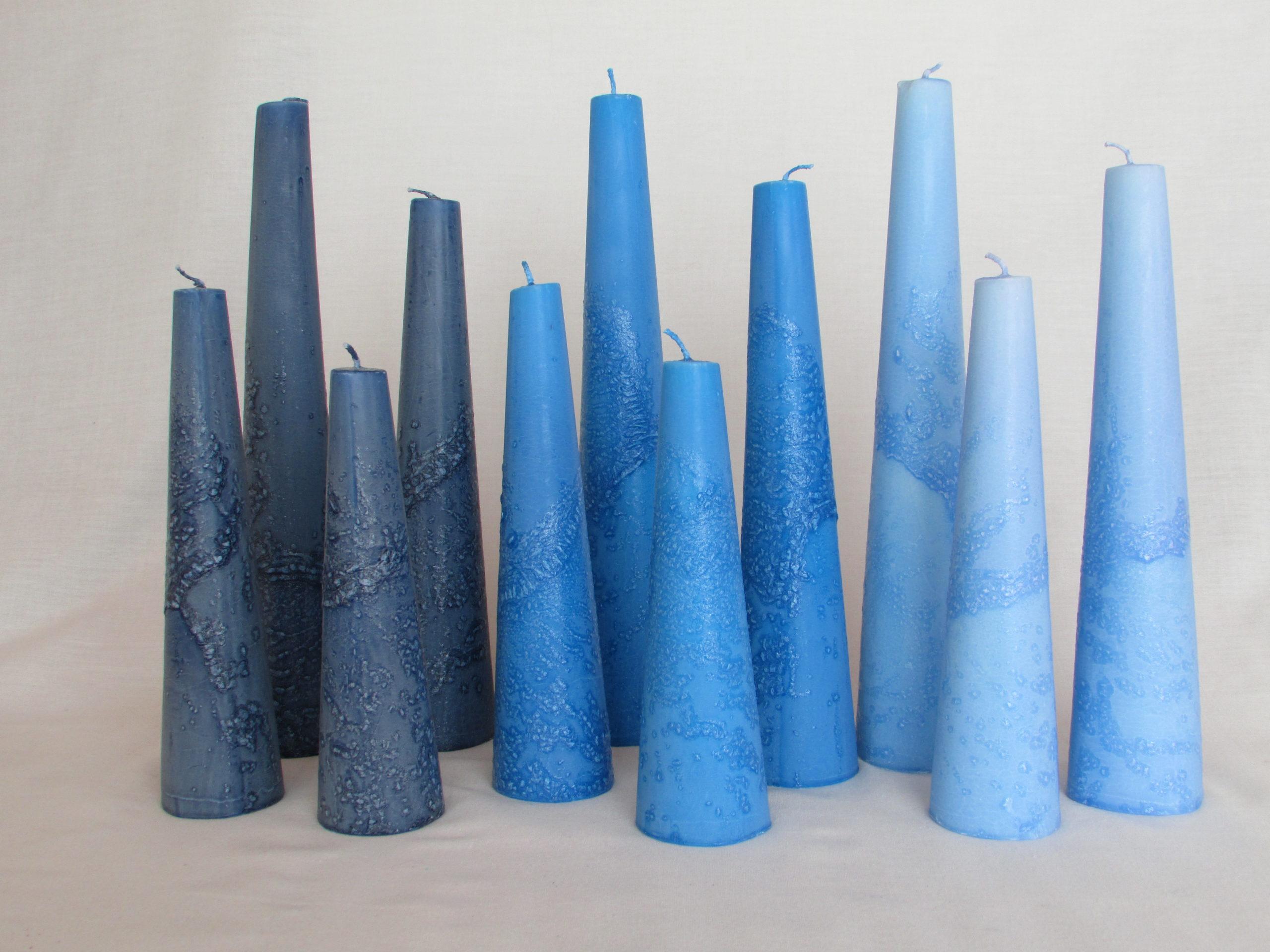 Tumma sininen, Sininen, Vaal.sininen